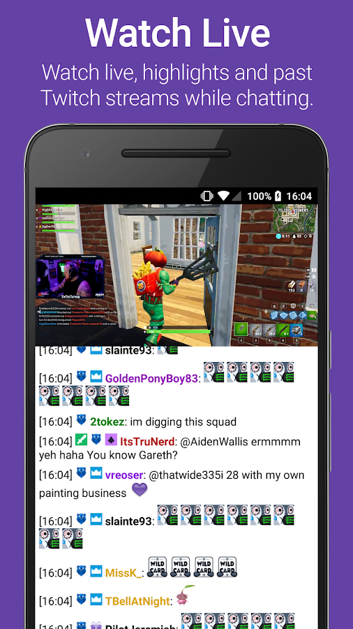 TChat for Twitch 6 66 APK Download - Android Social Apps