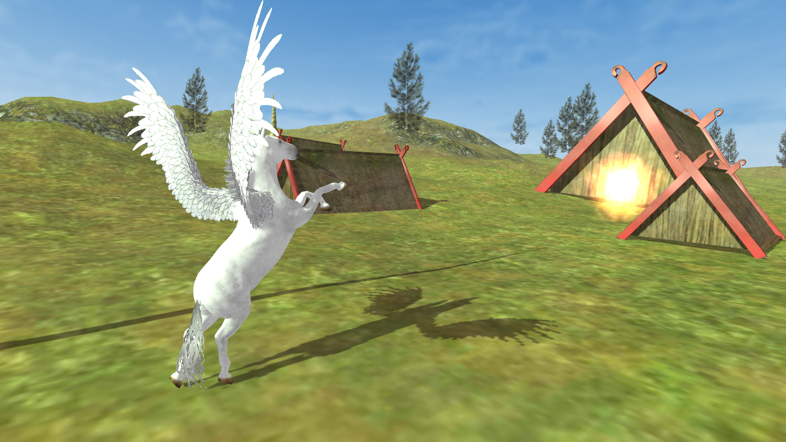 Flying Unicorn Simulator Free 2 APK Download Android Simulation Games