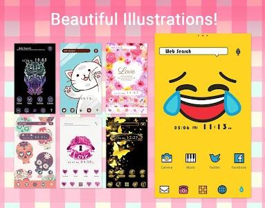 Wallpaper Theme +HOME Launcher 3.5.04 screenshot 3
