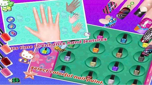 Girls Fashion Salon - Nail Art Makeup 1.4 screenshot 13