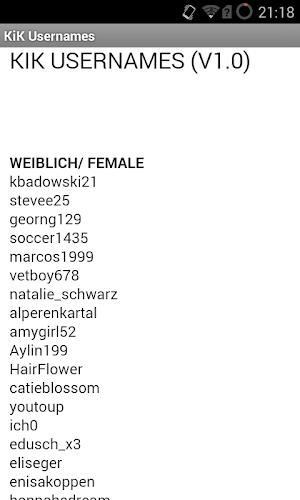 Brilliant Usernames