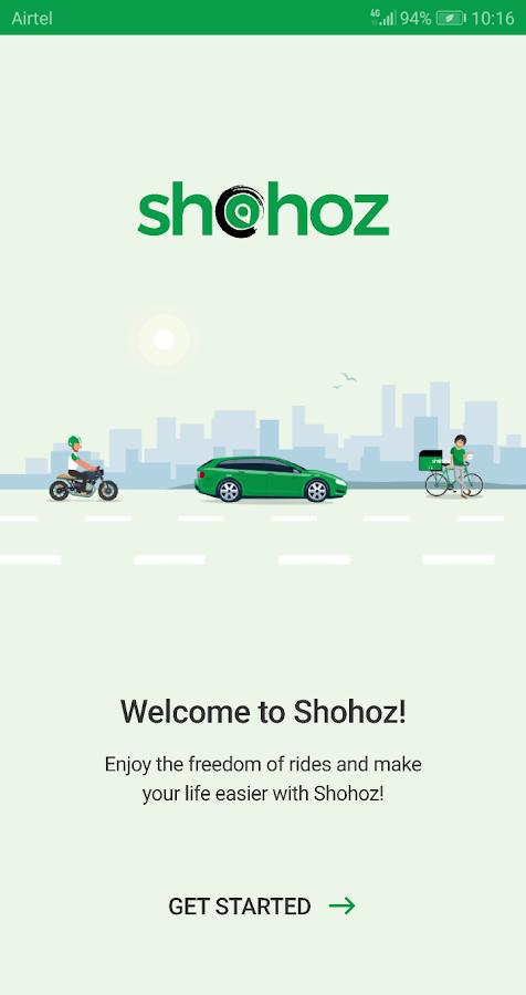 com shohoz rides 2 3 1 APK Download - Android cats  Apps