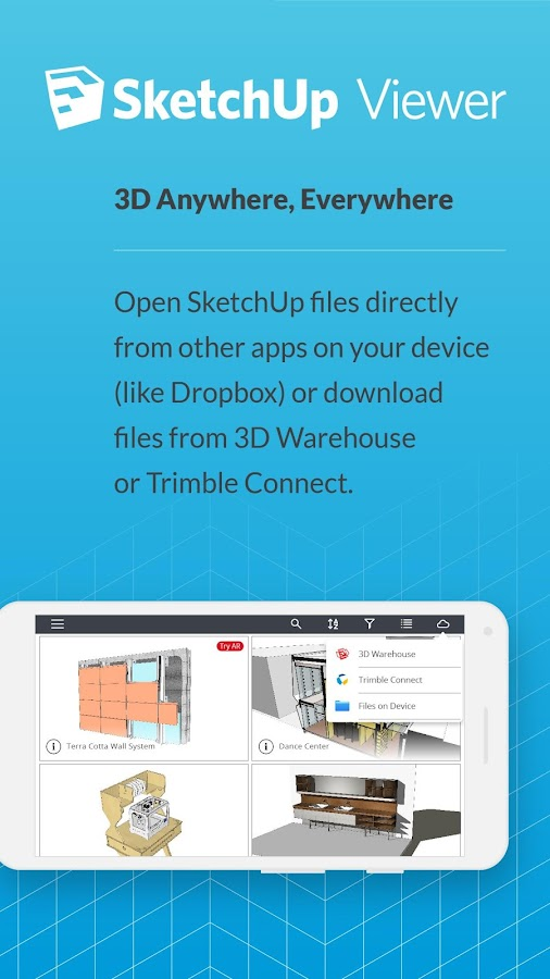 SketchUp Viewer 5 0 APK Download - Android Productivity Apps