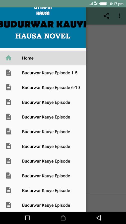 Budurwar Kauye - Hausa Novel 5 3 APK Download - Android Books