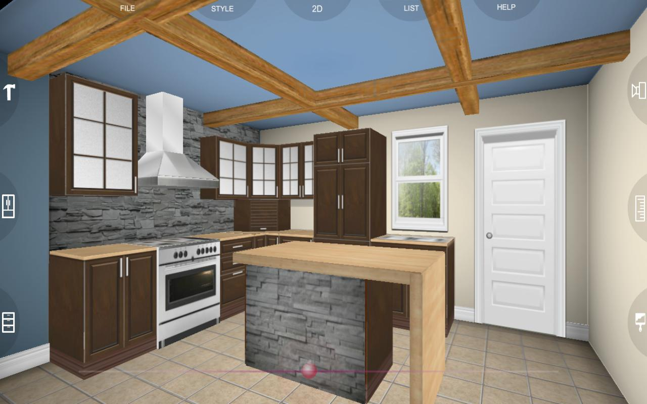 eurostyle kitchen 3d design 2 2 0 apk download android. Black Bedroom Furniture Sets. Home Design Ideas