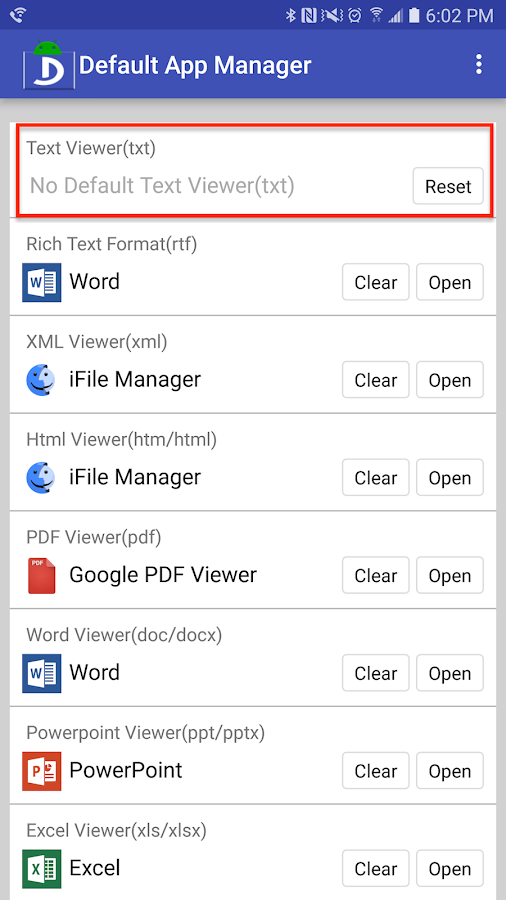 Default App Manager 1 0 0 APK Download - Android Tools Apps