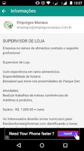 Empregos Manaus VG 0.0.2 screenshot 5