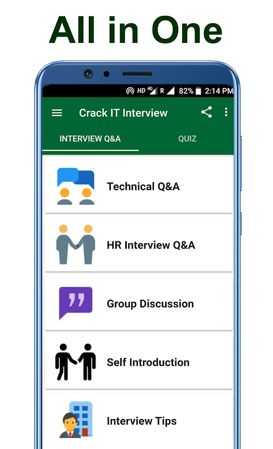 Crack IT Interview Questions 1 0 7 APK Download - Android