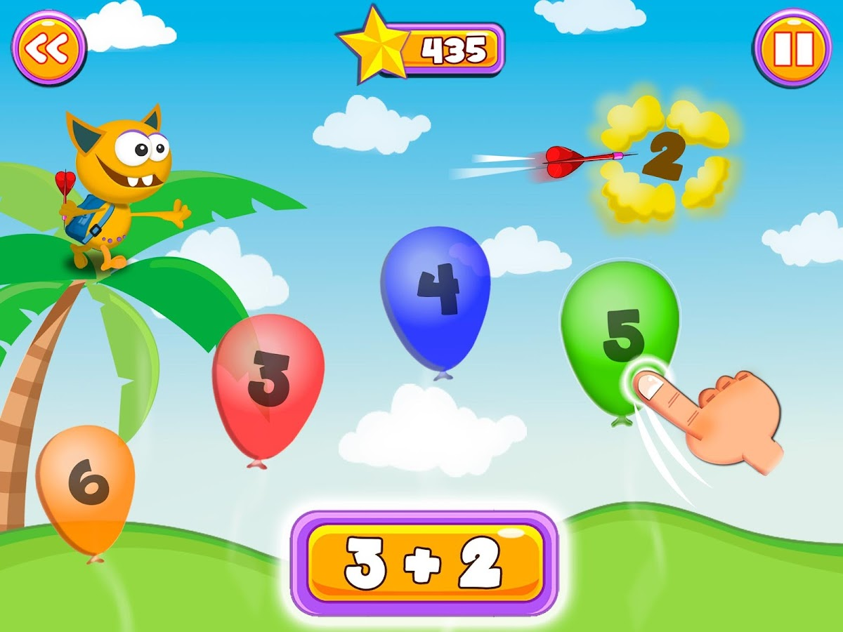 Math Games for Kids: Addition and Subtraction 5.4 APK Download ...