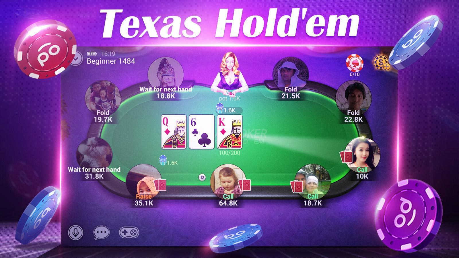 Boyaa Texas Poker Apk Download Android Card Games
