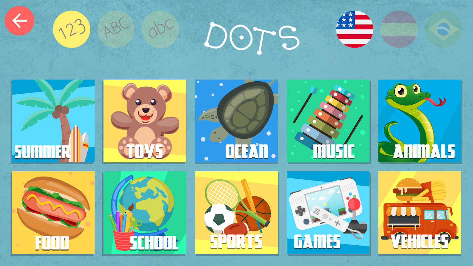 Kids Dots 1 0 APK Download Android Educational Games