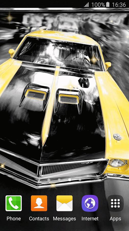Muscle Car Wallpapers HD 3D 4.2 screenshot 1 ...