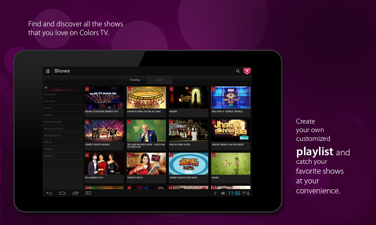 ColorsTV 2 2 APK Download - Android Entertainment Apps