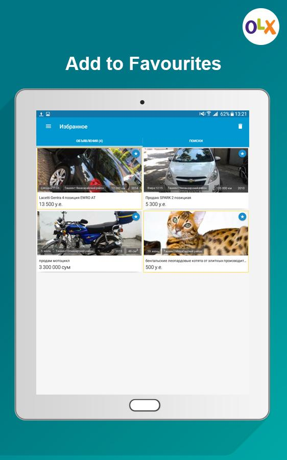 Olx classifieds of uzbekistan apk download android shopping apps olx classifieds of uzbekistan screenshot 13 stopboris Choice Image