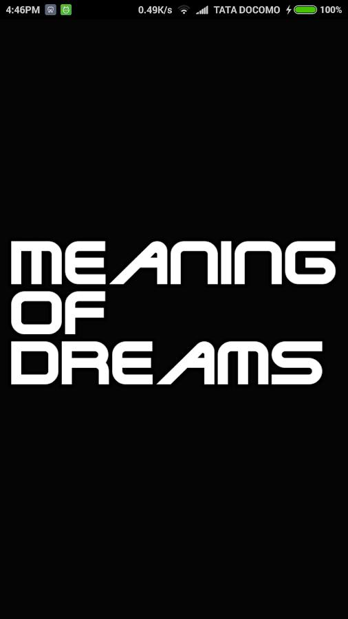 دانلود सपनो का मतलब 5 1 4 APK - برنامه های سرگرمی