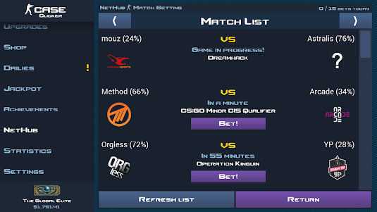 Case Clicker 1.9.0a screenshot 4