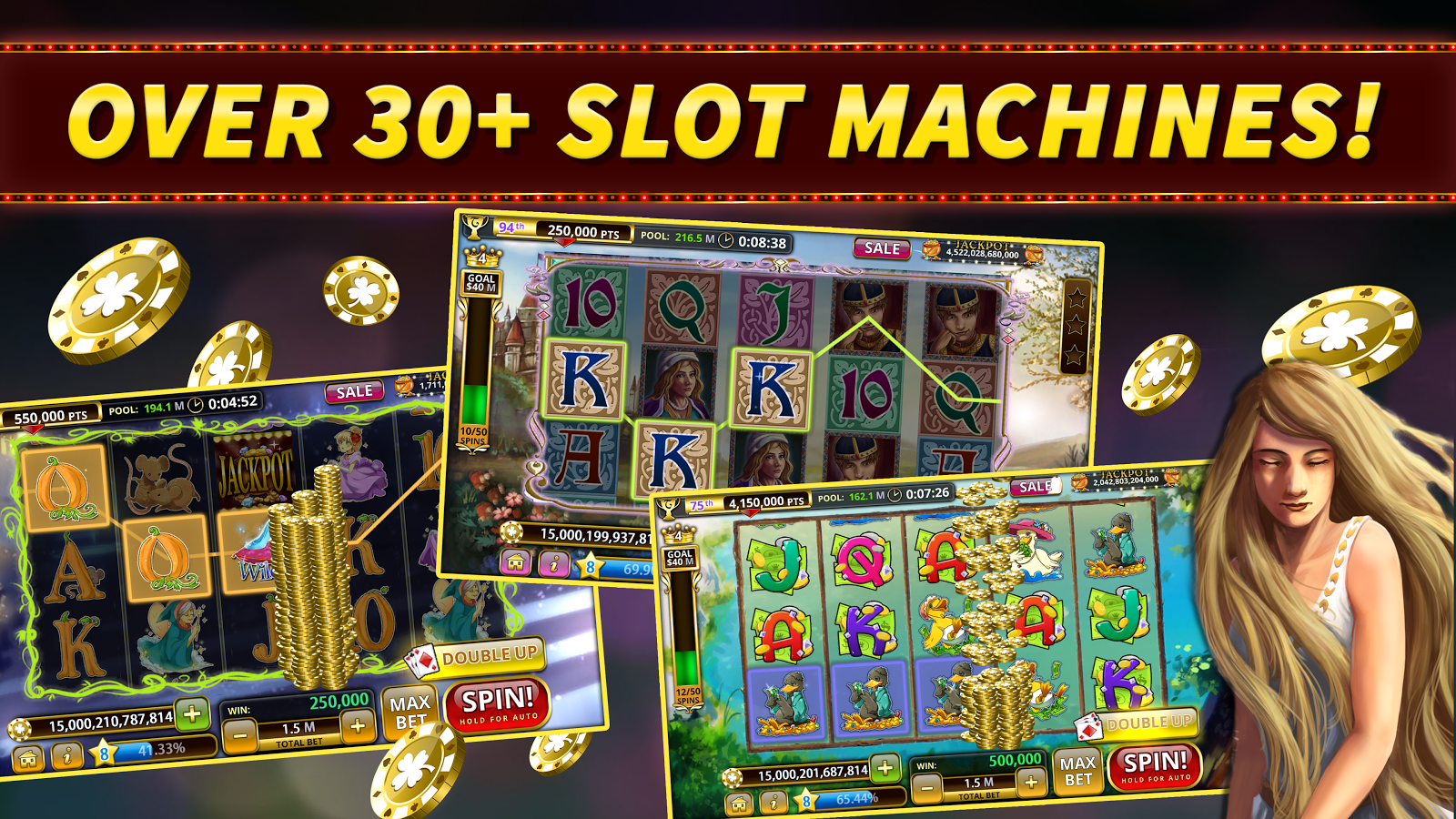double up free slots