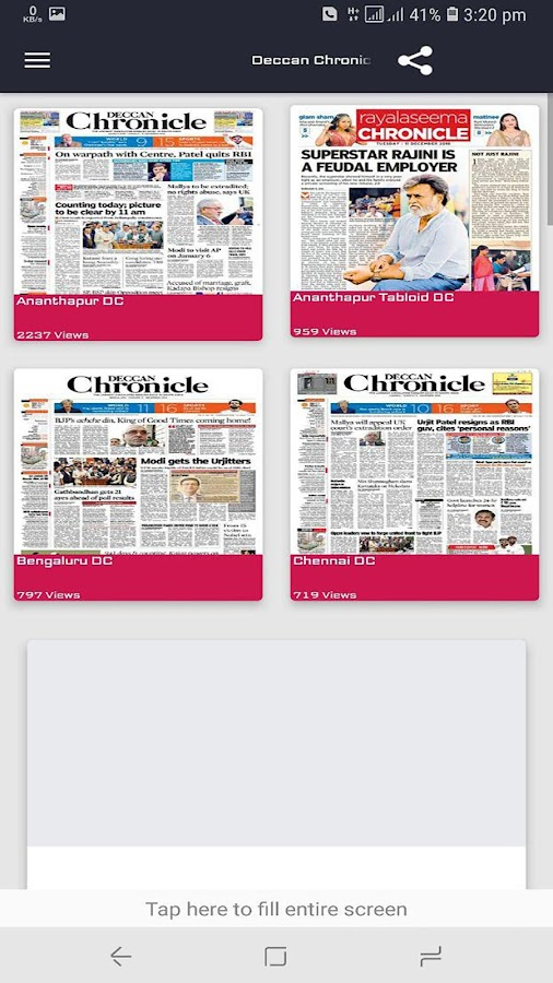 DNP - English NewsPapers 3 0 APK Download - Android News & Magazines