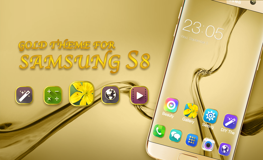 Samsung Rose Gold Golden Wallpaper