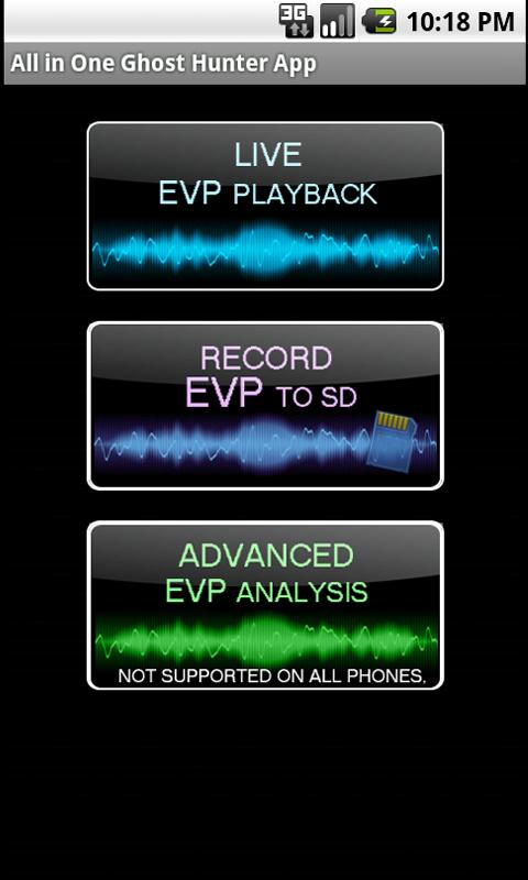 Ghost Hunter (EMF, EVP, SCAN) 1 1 7 APK Download - Android
