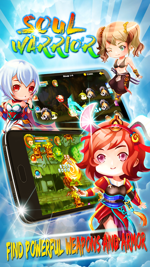 Soul Warriors – Fantasy RPG Adventure: Heroes War 2 4 APK Download