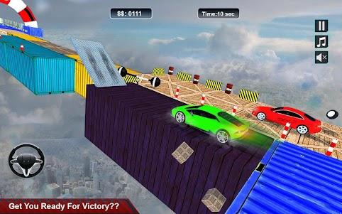 Impossible Stunt Space Car Racing 2018 1.0 screenshot 1