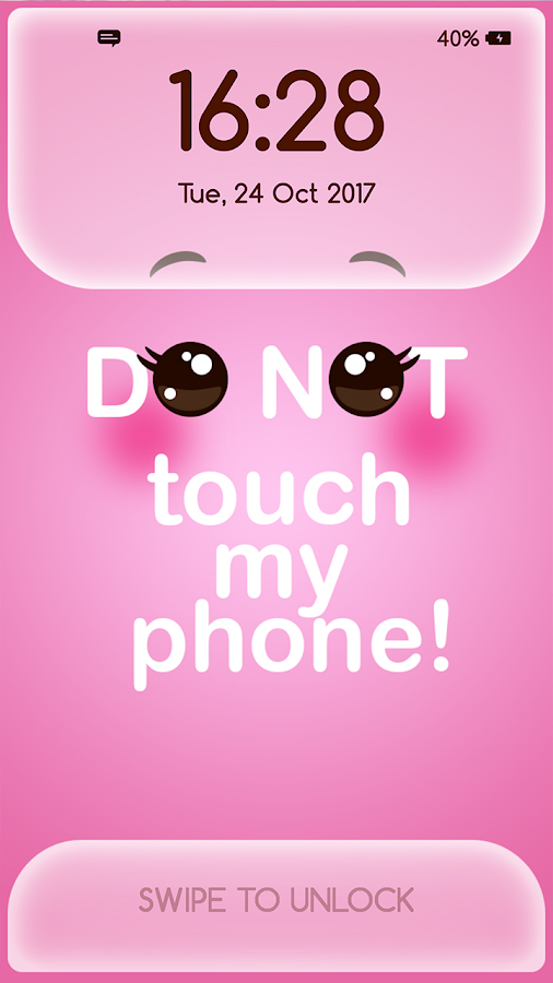 Girly Lock Screen Wallpaper With Quotes 3 5 Apk Download