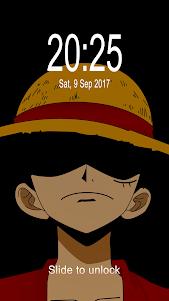 Luffy Monkey D.(モンキー・D・ルフィ) Fan Anime Lock Screen 1.3 screenshot 4