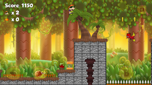 Super Adventures Jungle World - Super boy 2.3.6 screenshot 4