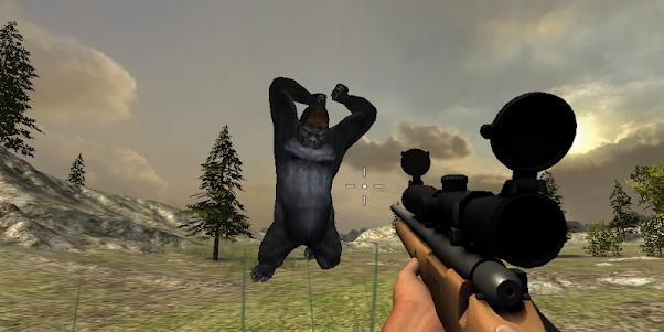 Gorilla Hunter Simulator 2015 1.9 screenshot 2