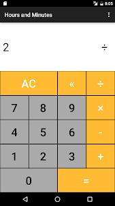 Hours & Minutes Calculator 1.3 screenshot 5