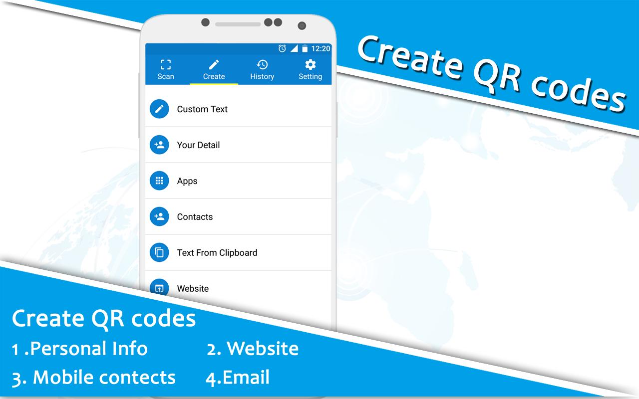 QR Code Generator : Bar Code Scanner : QR Scanner 1 0 2 APK Download