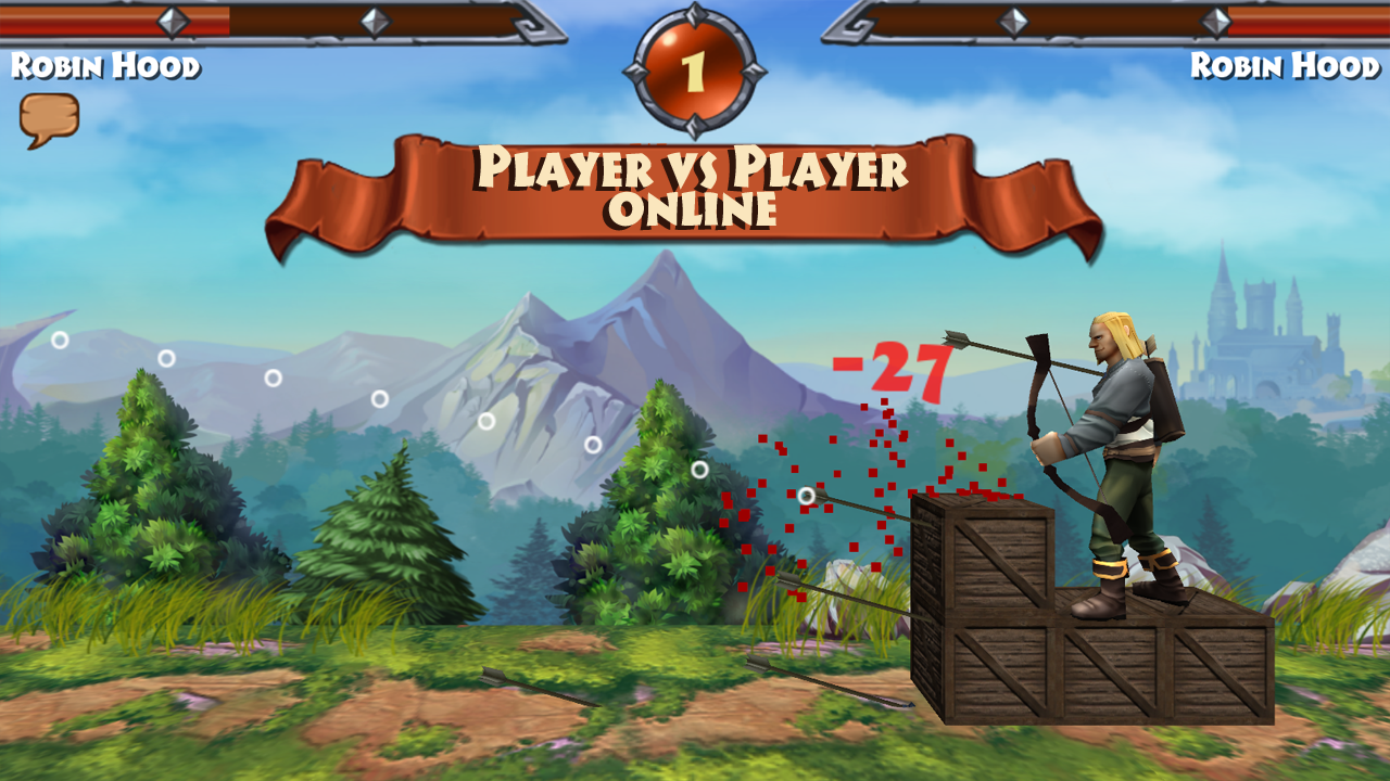 robin hood archery games pvp 1 022 apk download android role