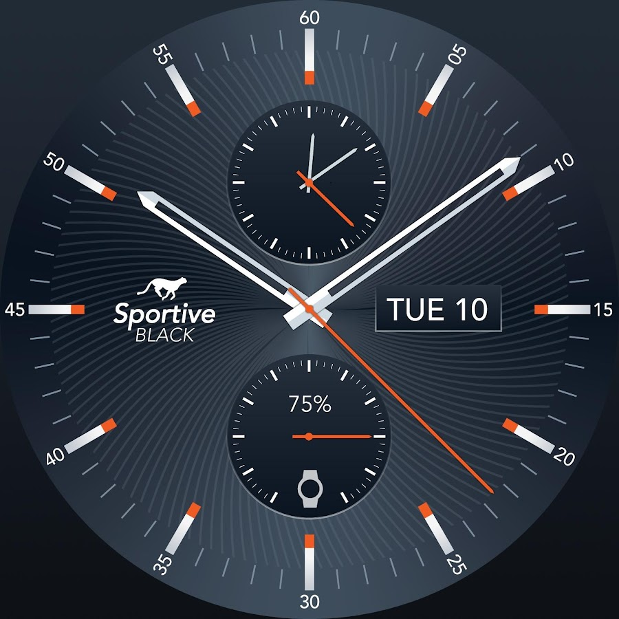 Sportive Watch Face 20 Apk Download Android Personalization Apps Circuit Board Clock V 10 For G Facerepo Screenshot 11