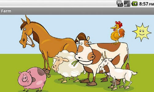 Farm Animals for Kids 2.0 screenshot 1