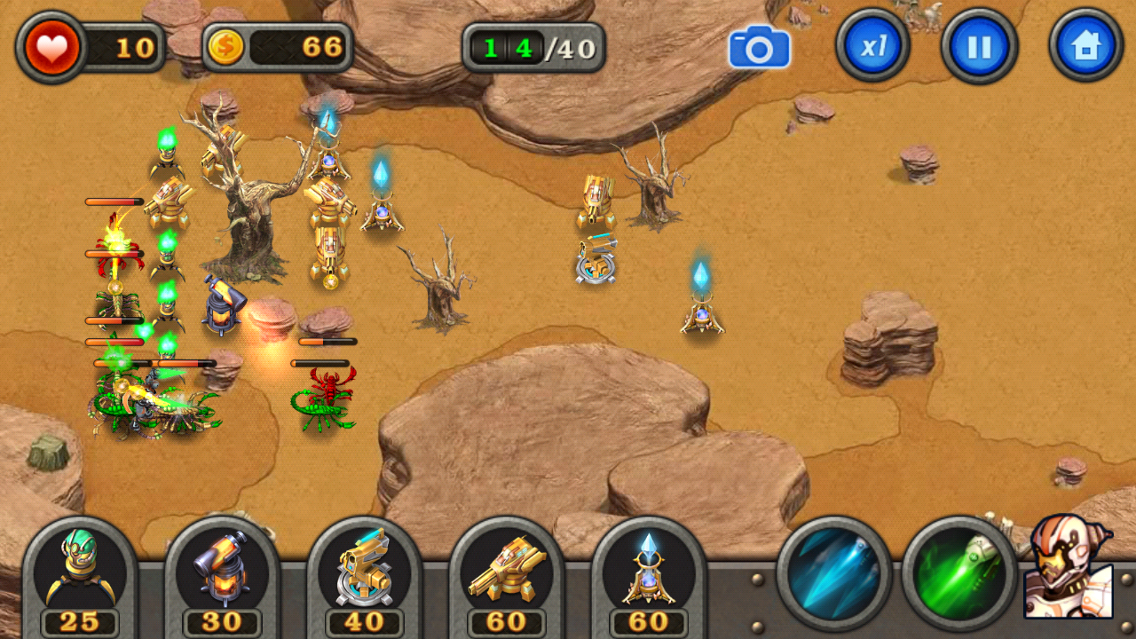 Robot Defense 1 0 7 APK Download - Android Strategy Games
