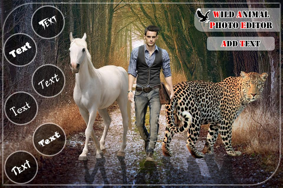 Wild Animal Photo Editor Animal Photo Frames 1 9 Apk Download