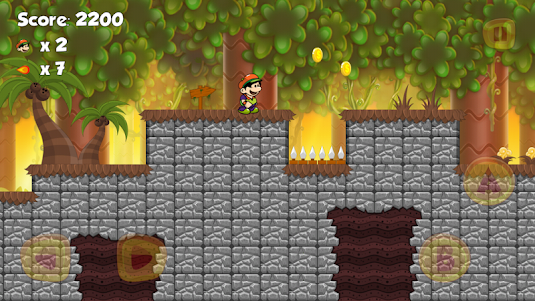 Super Adventures Jungle World - Super boy 2.3.6 screenshot 6