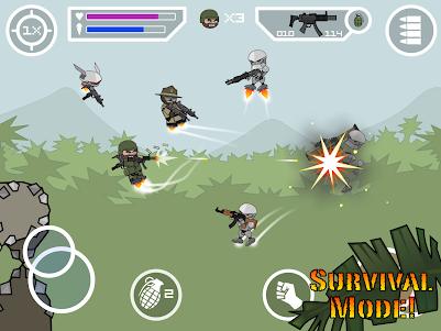 Doodle Army 2 : Mini Militia 5.3.7 screenshot 12