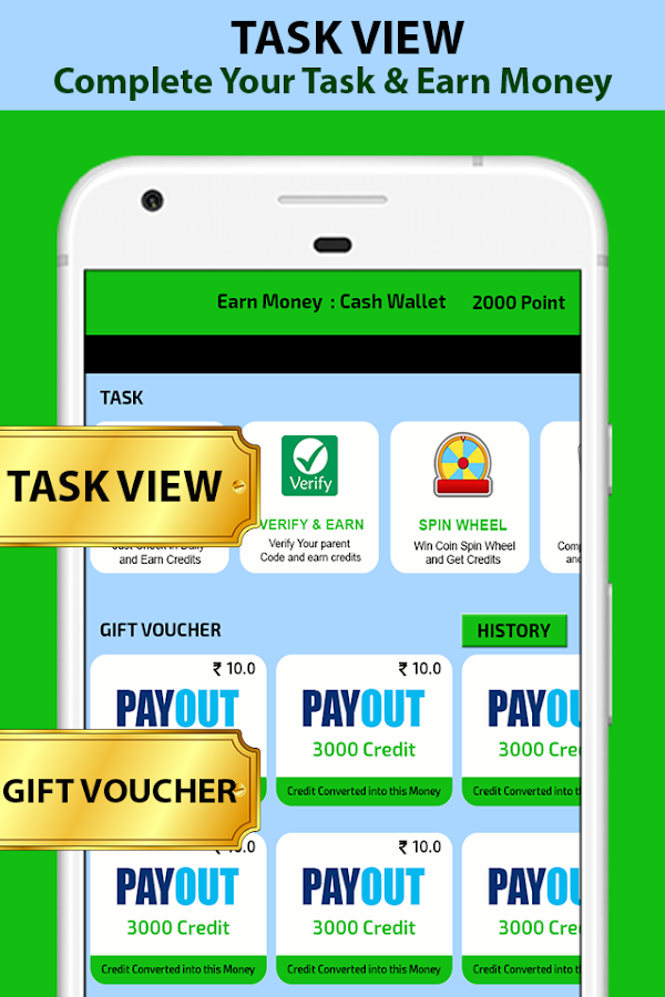 Earn Money Cash Wallet 1 0 APK Download - Android