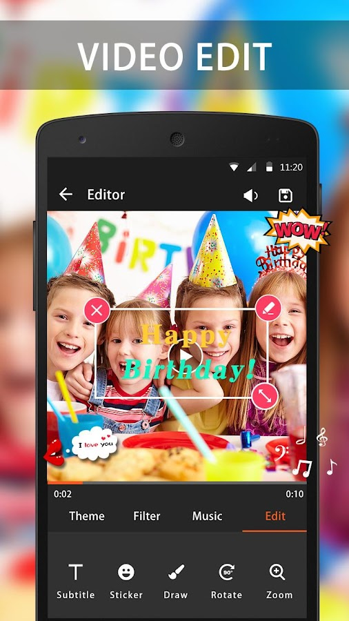 Video Maker & Video Editor Pro 2 5 0 APK Download - Android
