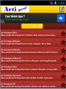 Arti Mimpi 1.0 screenshot 3