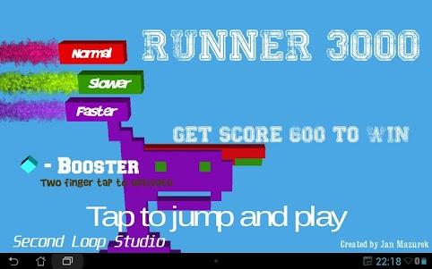 Runner 3000 1.0 screenshot 4