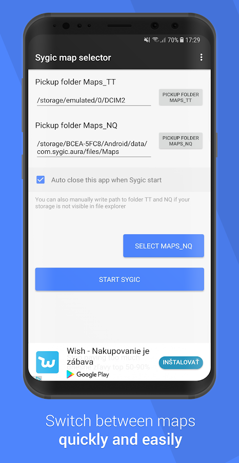 Sygic maps selector 2 3 2 APK Download - Android Tools Apps