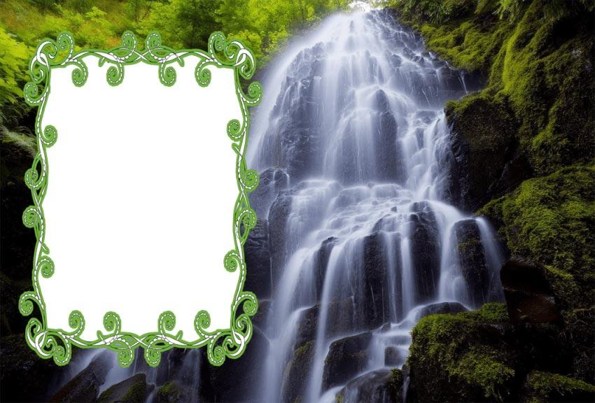 Download nature photo frame apk latest version app for android devices.