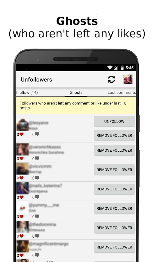 Unfollowers for Instagram 2 9 1 APK Download - Android Photography Apps