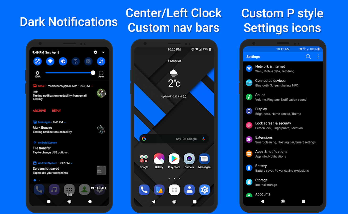 Alpha Substratum Theme For LG V30, G6, G7 Oreo 3 2 APK