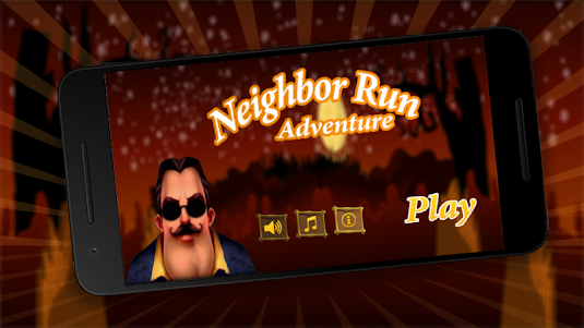 Real Neighbor Run Adventure 1.0 screenshot 1
