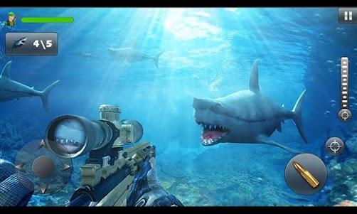 Underwater Whale Shark Sniper Hunter 3D 2018 1.0 screenshot 4