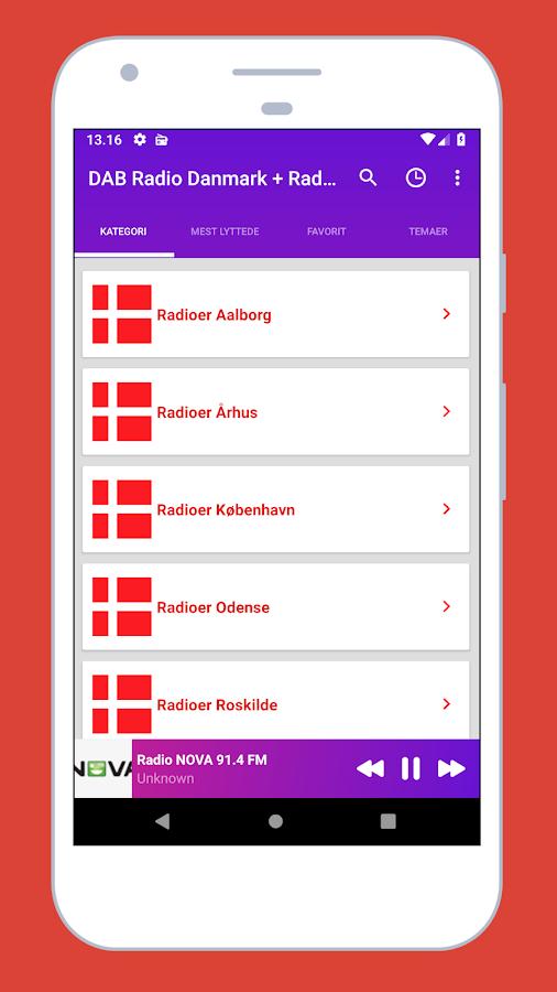 Radio Denmark + Radio FM Denmark: Danish DAB Radio 1 2 8 APK